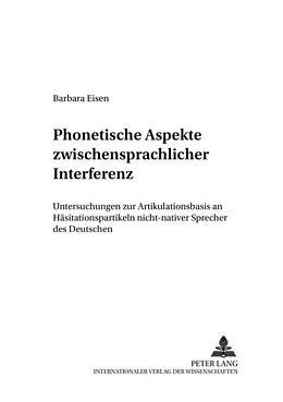 Cover: https://exlibris.azureedge.net/covers/9783/6313/6675/2/9783631366752xl.jpg