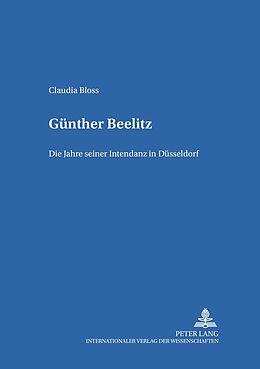 Kartonierter Einband Günther Beelitz von Claudia Bloss