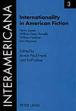 Kartonierter Einband Internationality in American Fiction von