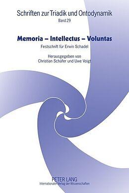 Fester Einband Memoria - Intellectus - Voluntas von