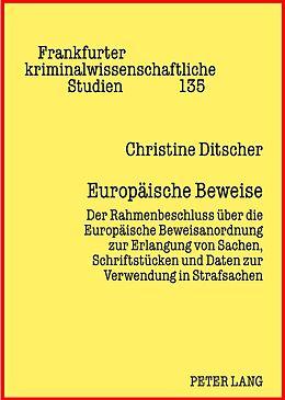 Fester Einband Europäische Beweise von Christine Ditscher