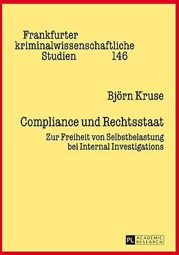 Fester Einband Compliance und Rechtsstaat von Björn Kruse