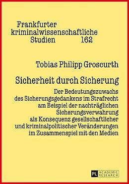 Fester Einband Sicherheit durch Sicherung von Tobias Philipp Groscurth