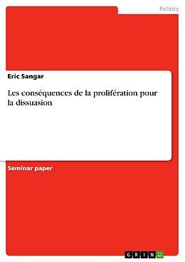 E-Book (epub) Les conséquences de la prolifération pour la dissuasion von Eric Sangar