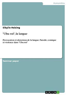 "eBook (epub) ""Ubu roi"", la langue de Sibylle Heising"