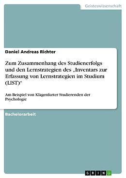Cover: https://exlibris.azureedge.net/covers/9783/6409/4527/6/9783640945276xl.jpg