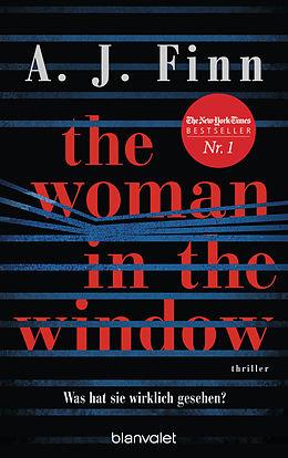 E-Book (epub) The Woman in the Window - Was hat sie wirklich gesehen? von A. J. Finn