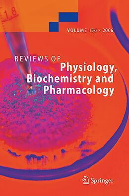 Kartonierter Einband Reviews of Physiology, Biochemistry and Pharmacology 156 von
