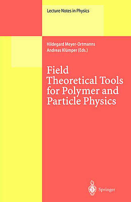 Kartonierter Einband Field Theoretical Tools for Polymer and Particle Physics von