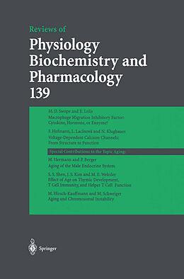 Kartonierter Einband Reviews of Physiology, Biochemistry and Pharmacology 139 von R. Jahn, W. J. Lederer, N. Pfanner