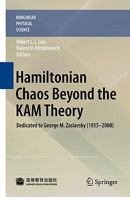 Fester Einband Hamiltonian Chaos Beyond the KAM Theory von