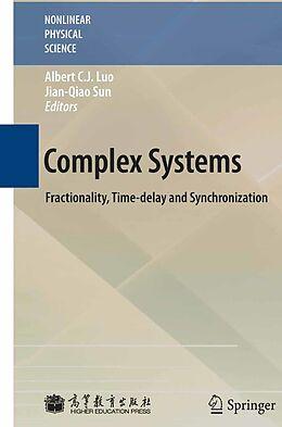 E-Book (pdf) Complex Systems von Albert C. J. Luo, Jian-Qiao Sun