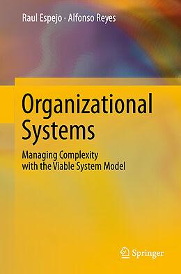 Fester Einband Organizational Systems von Raul Espejo, Alfonso Reyes