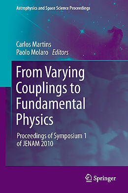 E-Book (pdf) From Varying Couplings to Fundamental Physics von