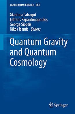 Kartonierter Einband Quantum Gravity and Quantum Cosmology von
