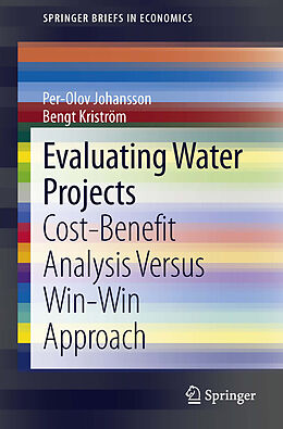 E-Book (pdf) Evaluating Water Projects von Per-Olov Johansson, Bengt Kriström