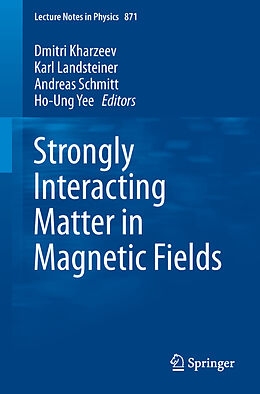 Kartonierter Einband Strongly Interacting Matter in Magnetic Fields von