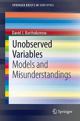 Kartonierter Einband Unobserved Variables von David J. Bartholomew
