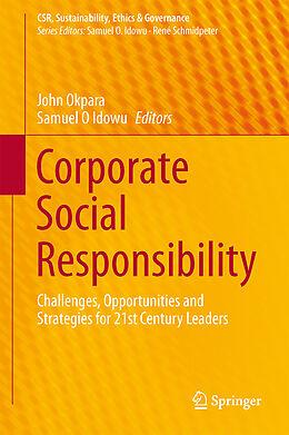 E-Book (pdf) Corporate Social Responsibility von