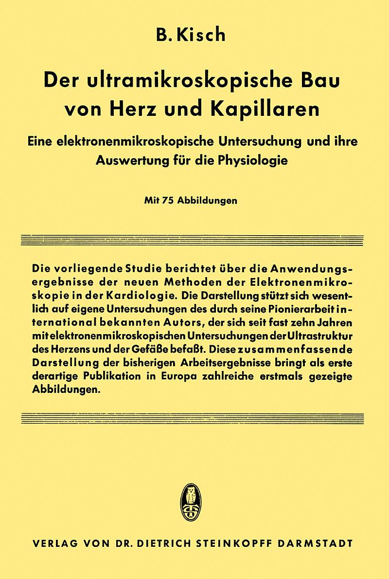 Der Ultramikroskopische bau von Herz und Kapillaren - Bruno Kisch ...