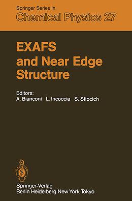 Kartonierter Einband EXAFS and Near Edge Structure von