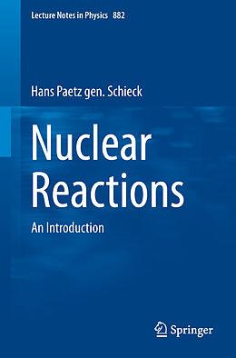 Kartonierter Einband Nuclear Reactions von Hans Paetz gen. Schieck