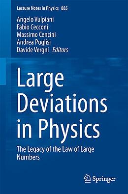 Kartonierter Einband Large Deviations in Physics von