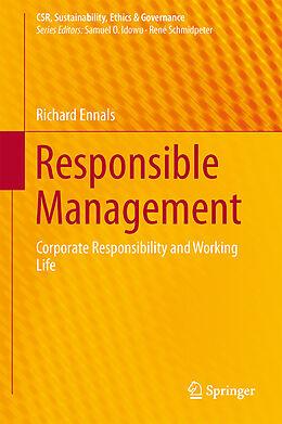 Fester Einband Responsible Management von Richard Ennals