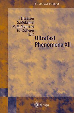Kartonierter Einband Ultrafast Phenomena XII von