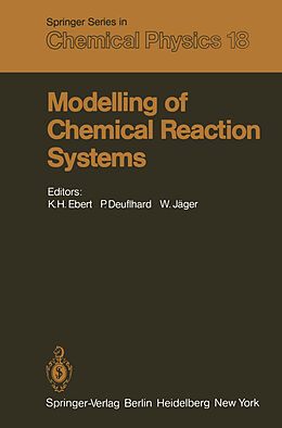Kartonierter Einband Modelling of Chemical Reaction Systems von