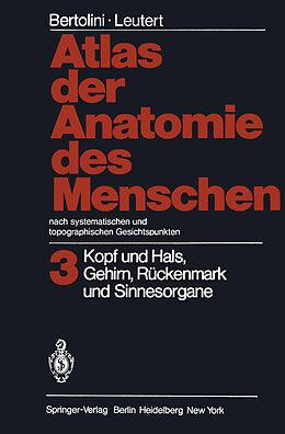Atlas der Anatomie des Menschen Nach systematischen und topographischen Gesichtspunkten [Versione tedesca]