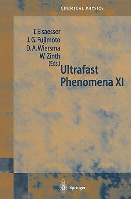 Kartonierter Einband Ultrafast Phenomena XI von