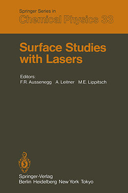 Kartonierter Einband Surface Studies with Lasers von