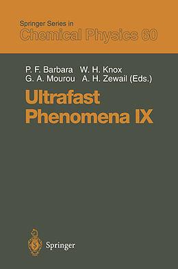 Kartonierter Einband Ultrafast Phenomena IX von