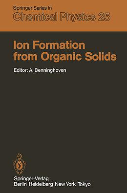 Kartonierter Einband Ion Formation from Organic Solids von