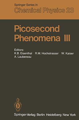 Kartonierter Einband Picosecond Phenomena III von
