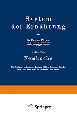 Kartonierter Einband System der Ernährung von Johanna Dittrixh, Marietta Lendl, Rosa Miari