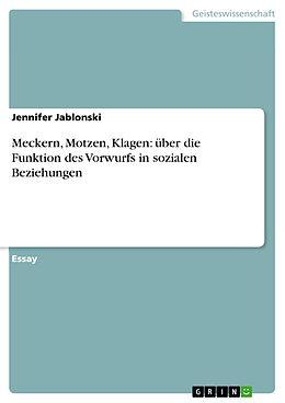 Cover: https://exlibris.azureedge.net/covers/9783/6565/1957/7/9783656519577xl.jpg