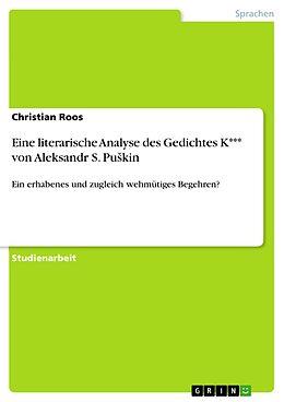 Cover: https://exlibris.azureedge.net/covers/9783/6566/4015/8/9783656640158xl.jpg