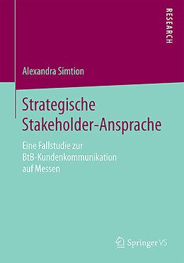 Kartonierter Einband Strategische Stakeholder-Ansprache von Alexandra Simtion