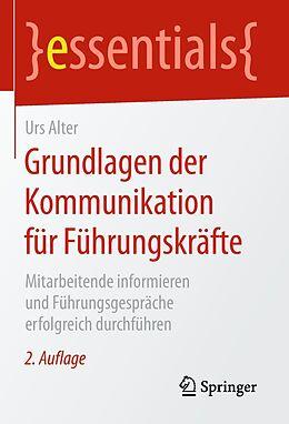E-Book (pdf) Grundlagen der Kommunikation für Führungskräfte von Urs Alter
