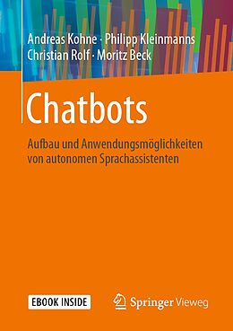 E-Book (pdf) Chatbots von Andreas Kohne, Philipp Kleinmanns, Christian Rolf