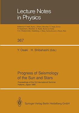 Kartonierter Einband Progress of Seismology of the Sun and Stars von
