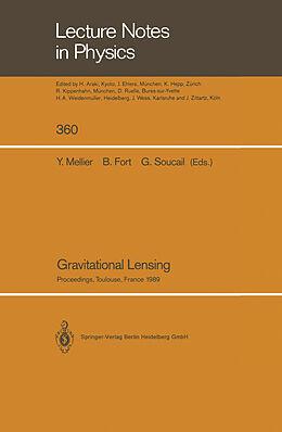 Kartonierter Einband Gravitational Lensing von