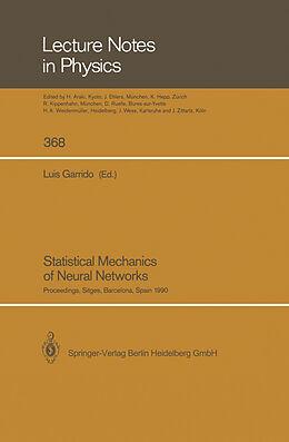 Kartonierter Einband Statistical Mechanics of Neural Networks von