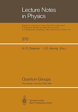 Kartonierter Einband Quantum Groups von