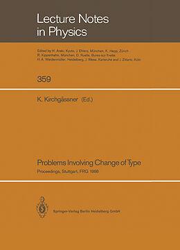 Kartonierter Einband Problems Involving Change of Type von
