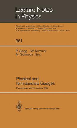Kartonierter Einband Physical and Nonstandard Gauges von