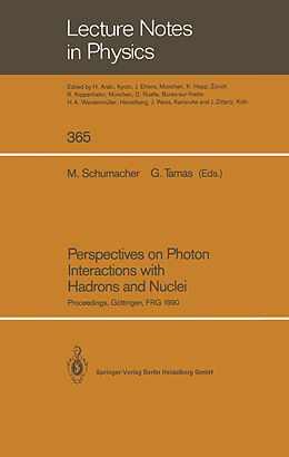 Kartonierter Einband Perspectives on Photon Interactions with Hadrons and Nuclei von