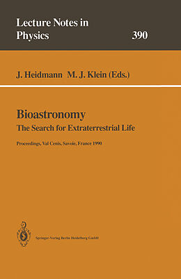 Kartonierter Einband Bioastronomy von